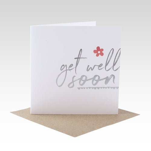 Get Well Soon Foil Card