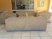 Couch cover – Polyester 600D Colours – Beige, Brown, Grey or Khaki - Size 1600x950x770