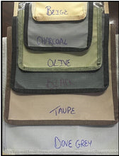 Table & chairs cover Ripstop UV Colours, Beige, Taupe, Dove Grey, Charcoal, Olive Size 2600x1550x770