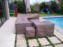 Large couch cover – Polyester 600D Colours – Beige, Brown, Grey or Khaki - Size 2200x950x770