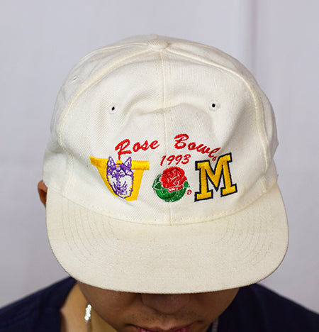 1993, ROSE BOWL, MICHIGAN VS WASHINGTON - SNAPBACK