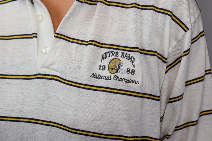 1988, NATIONAL CHAMPIONS POLO - SIZE MEDIUM