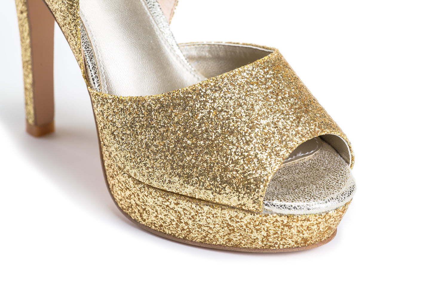 Michele Ho Gold Glitter Pumps perfect wedding heels party heels bridesmaids heels.