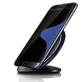 Foldable Qi Wireless Charging Stand Pad For Samsung Galaxy Phones - Without AC Adapter