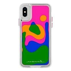 Case-Mate Lava Lamp Case Cover for Apple iPhone X - Multicolor