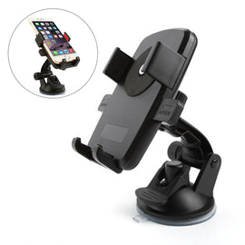 Universal  Car Phone Mount Holder Support Windshield Dashboard for Smartphone and GPS