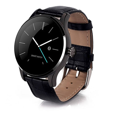 K88H Smart Watch Round IPS Touch Screen Bluetooth Wristwatch Support Heart Rate Monitor Pedometer