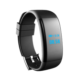 DF30 Bluetooth Smart Wristband Fitness Tracker Waterproof Monitor Sleep/Heart Rate/Blood Pressure