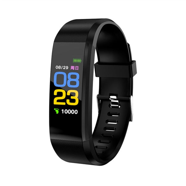 ID115 Smart Bracelet Band Blood Pressure Heart Rate Monitor Fitness Tracker Waterproof Pedometer