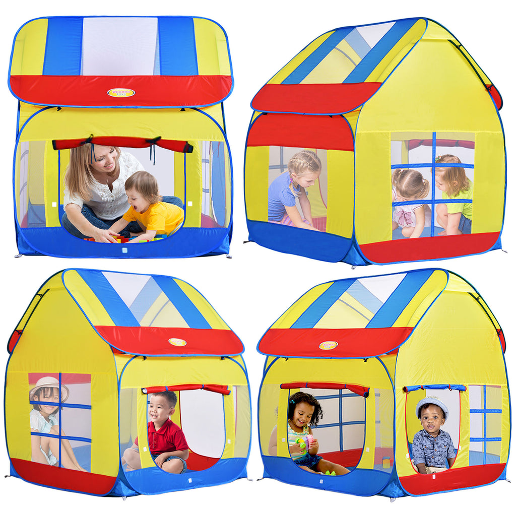 ... Big Children Playhouse Pop-Up Play Tent for Boys/Girls Indoor/Outdoor ...  sc 1 st  WooHoo Toys & Children Royal Highness Princess Castle Playhouse Play Tent For ...