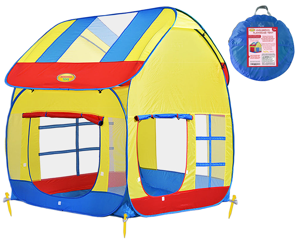 Big Children Playhouse Pop-Up Play Tent for Boys/Girls Indoor/Outdoor ...  sc 1 st  WooHoo Toys & Children Royal Highness Princess Castle Playhouse Play Tent For ...