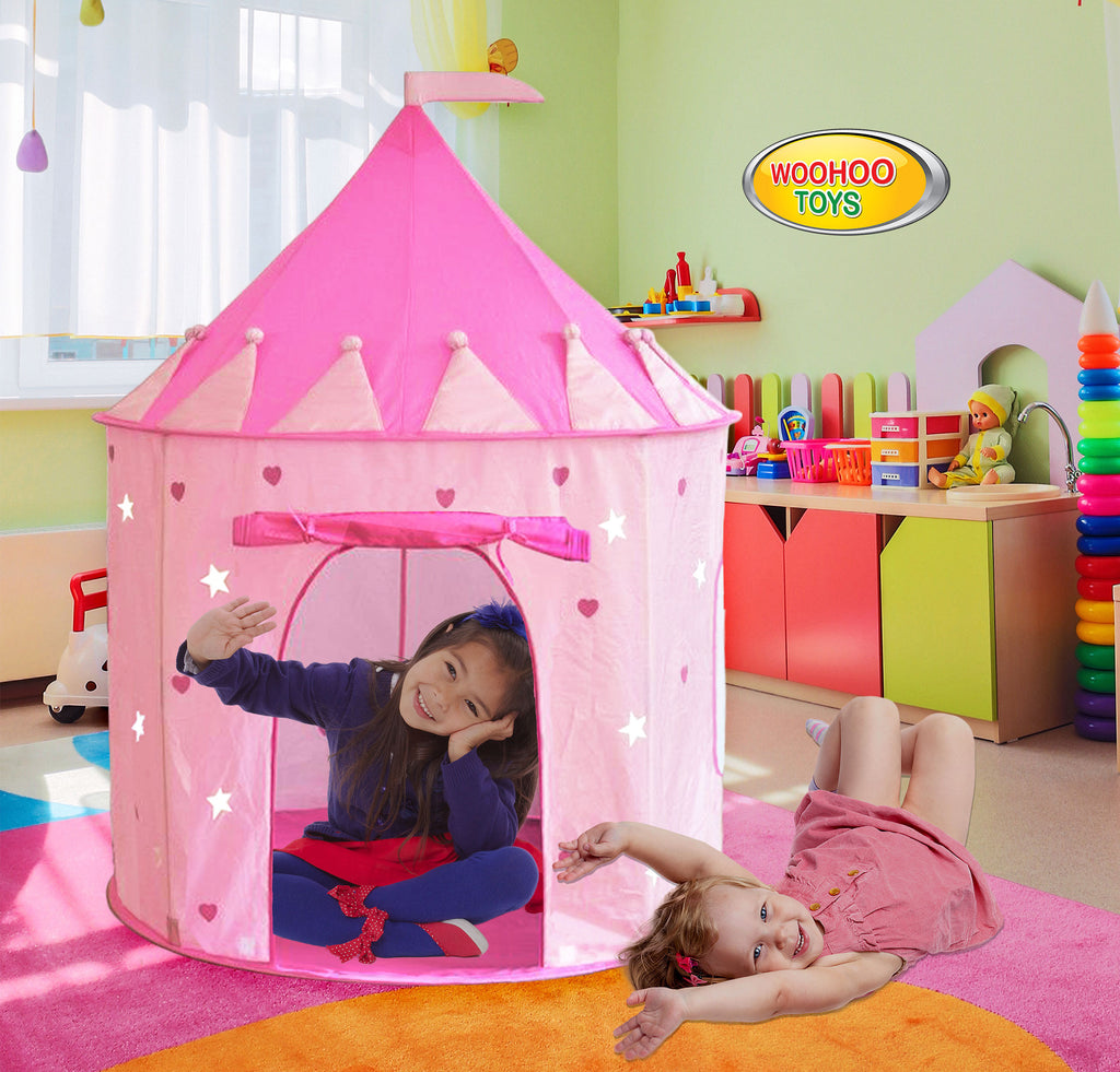 ... Children Pink Princess Castle Playhouse Play Tent For Girls Indoor/Outdoor w/Stakes ... & Children Royal Highness Princess Castle Playhouse Play Tent For ...