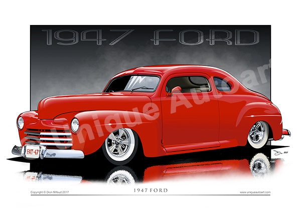 1947 Ford Print