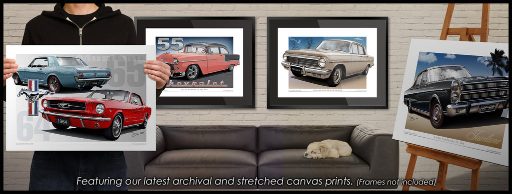 Canvas Prints- Unique Autoart Home Page