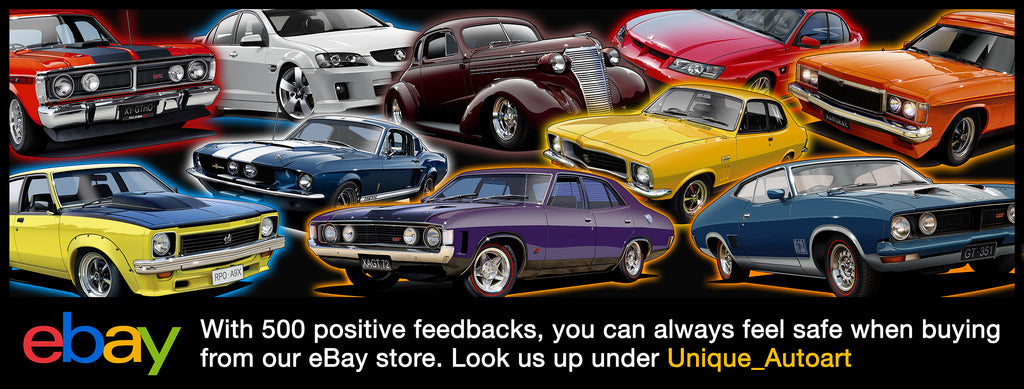 Unique Autoart- Ebay Home Page