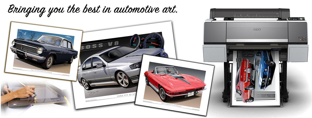 Car Drawings- Unique Autoart Home Page