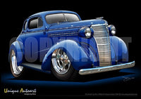 Chevrolet- Custom Blue