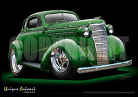 1938 Chevrolet Coupe-Custom Green