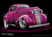 1938 Chevy Coupe- Custom Magenta