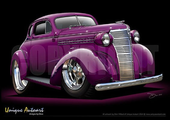 1938 Chevy - Custom Purple