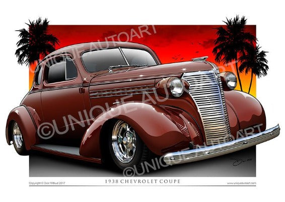 38 Chevrolet Coupe- Indian Sun