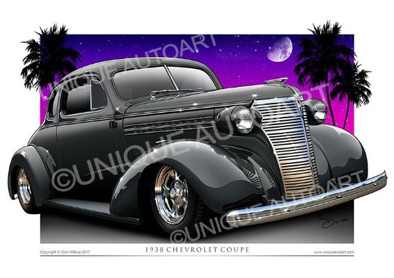 Chevrolet Coupe- Storm Gray