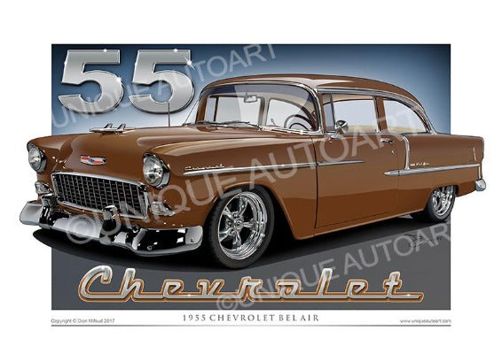 1955 Chevrolet- Autumn Bronze