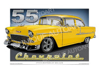 1955 Chevrolet- Yellow