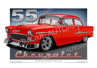 1955 Chevrolet- Gypsy Red