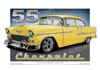 1955 Chevrolet- Harvest Gold