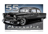 1955 Chevy - Onyx Black