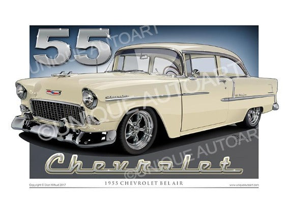 1955 Chevrolet- Shoreline Beige