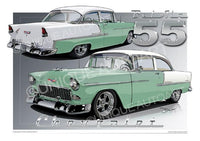 1955 Chevrolet Bel Air- SEA-MIST GREEN