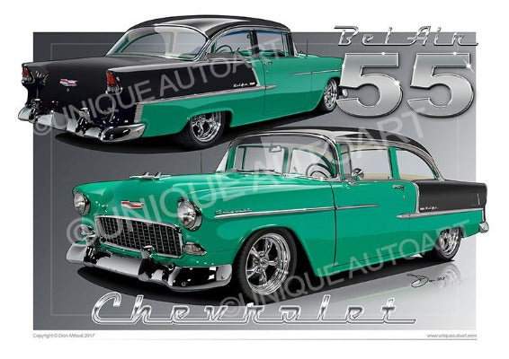 1955 Chevrolet Bel Air- JADE