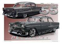 1955 Chevrolet- Car Prints