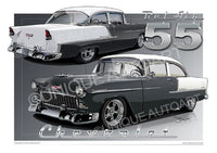 1955 Chevrolet Bel Air- SHADOW GRAY