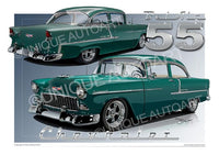 Neptune Green Chevy