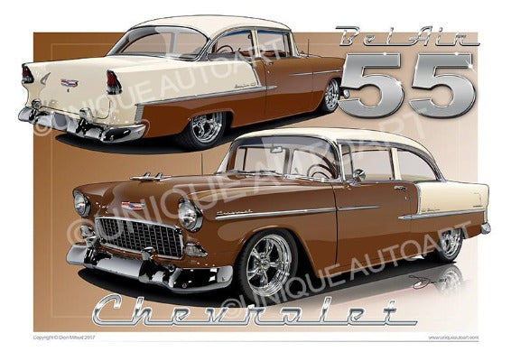 1955 Chevrolet Bel Air- Autumn Bronze