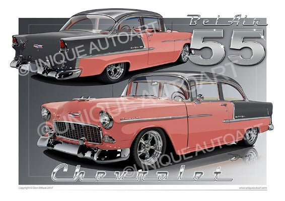 1955 Chevrolet Bel Air- Coral