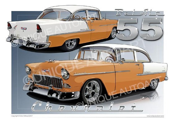 1955 Chevrolet Bel Air- NAVAJO TAN