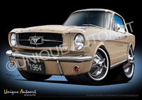 Mustang- CHANTILLY BEIGE