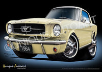 Ford Mustang - PHOENICIAN YELLOW