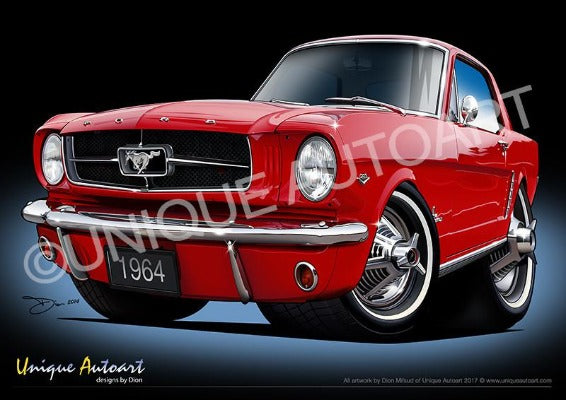 Mustang- RANGOON RED