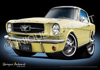 Mustang- SUNLIGHT YELLOW