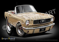 Mustang Convertible ANTIQUE BRONZE