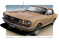 1966 Mustang- Antique Bronze