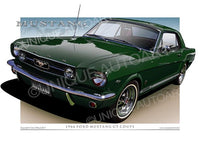 1966 Mustang- Ivy Green