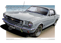1966 Mustang- Silver Frost