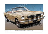 1966 Mustang Convertible- Antique Bronze