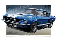 1967 Shelby Mustang GT500 - Acapulco Blue